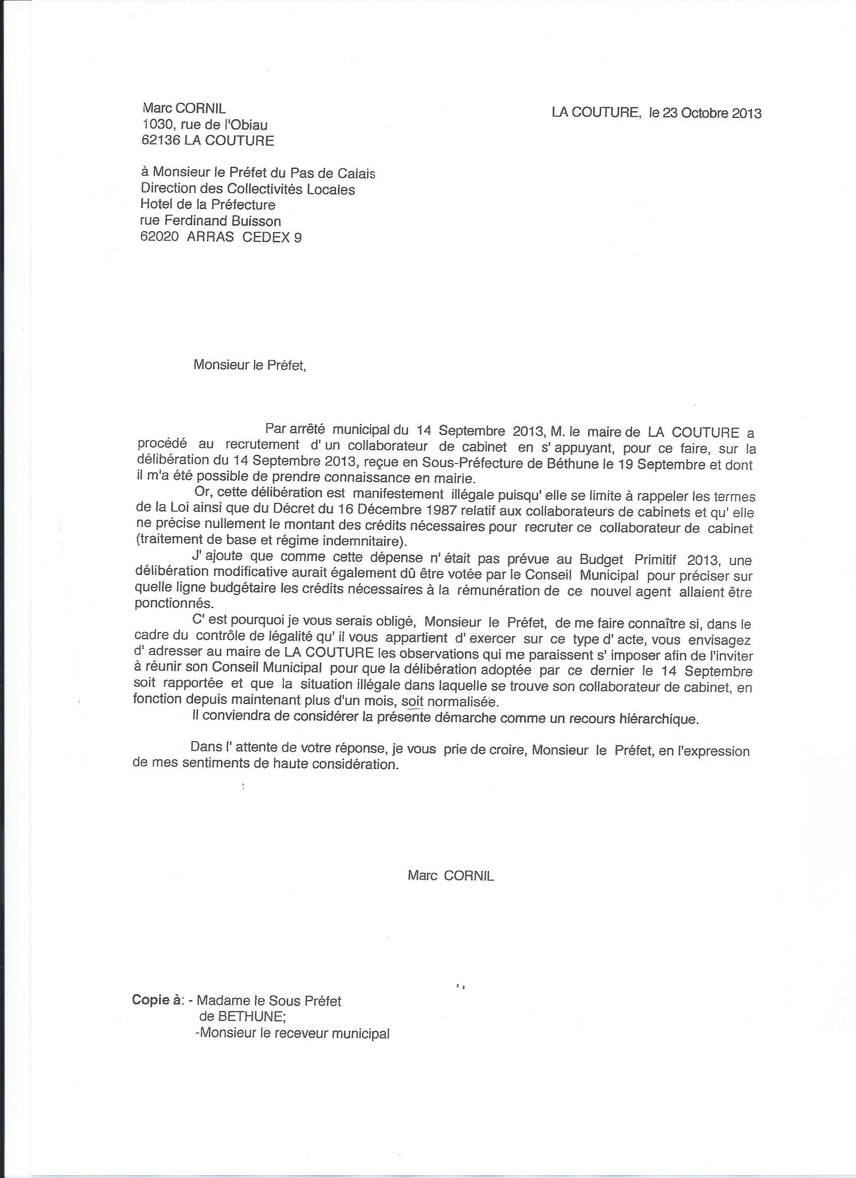 lettre motivation secretaire de mairie